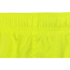 "Nike Swim Big Swoosh Logo Volley Shorts Boys 4"" Volt"